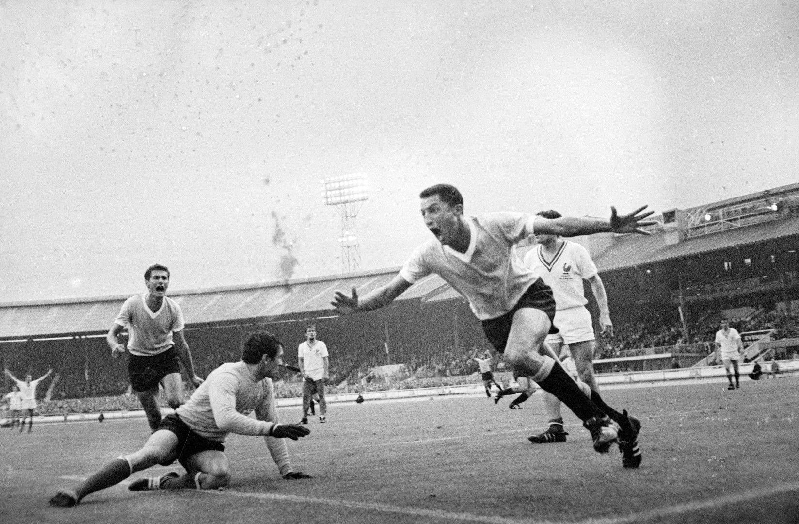 1966 г., Световно първенство в Англия. Снимка: Getty Images