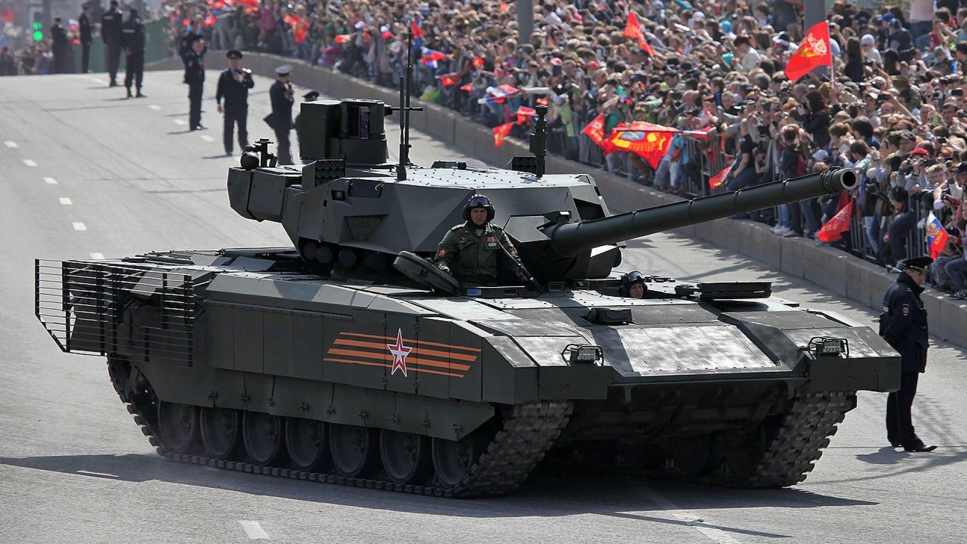 Кои са най-модерните танкове в света (снимки)