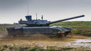 Най-новият руски танк вече е в серийно производство