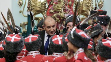 Румен Радев: Гвардейците са пазителите на държавността (снимки)