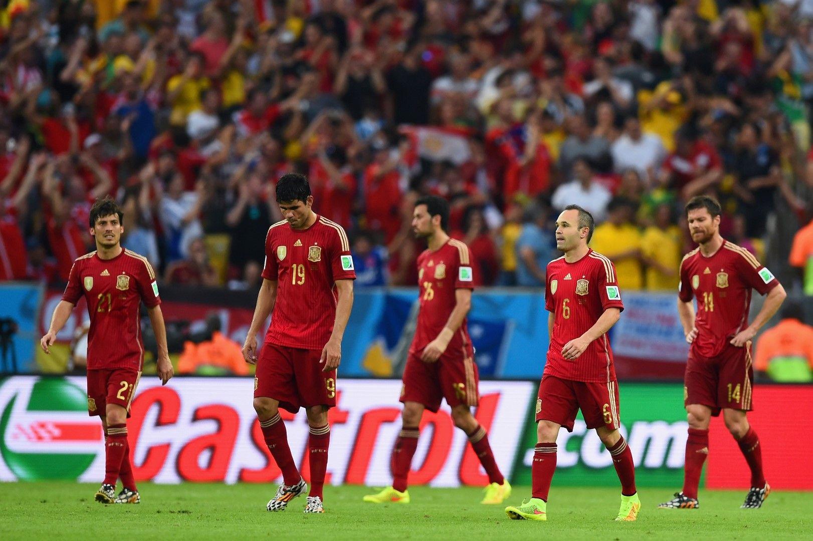 Последва нова съкрушителна загуба срещу Чили