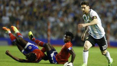 Меси си поигра с Хаити, но извади Аржентина от фаворитите за титлата