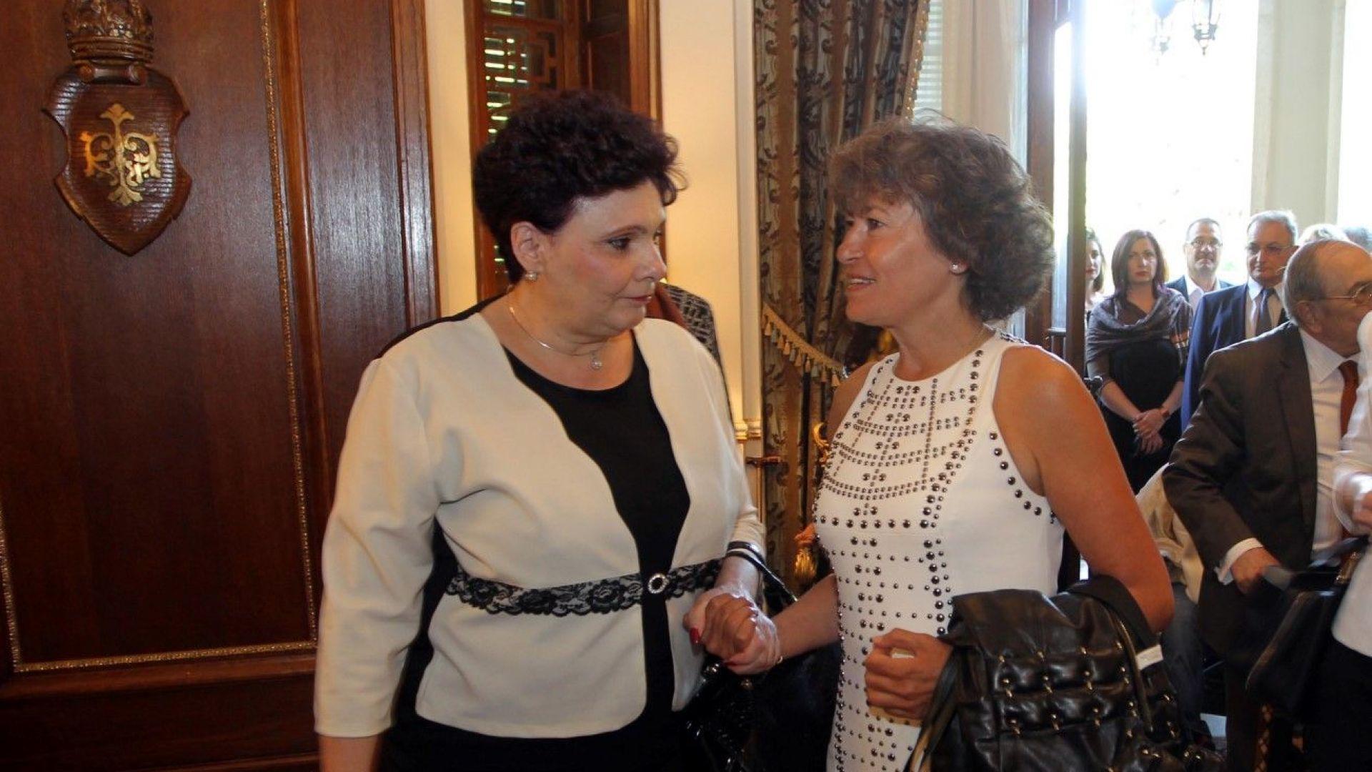 На събитието присъстваха бивши депутати и министри от НДСВ