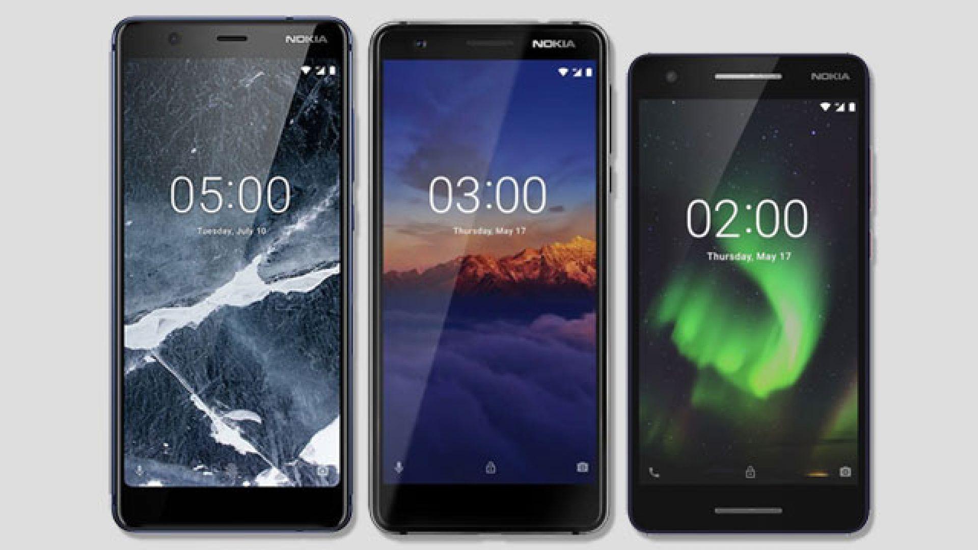 Това са новите Nokia 2, Nokia 3 и Nokia 5