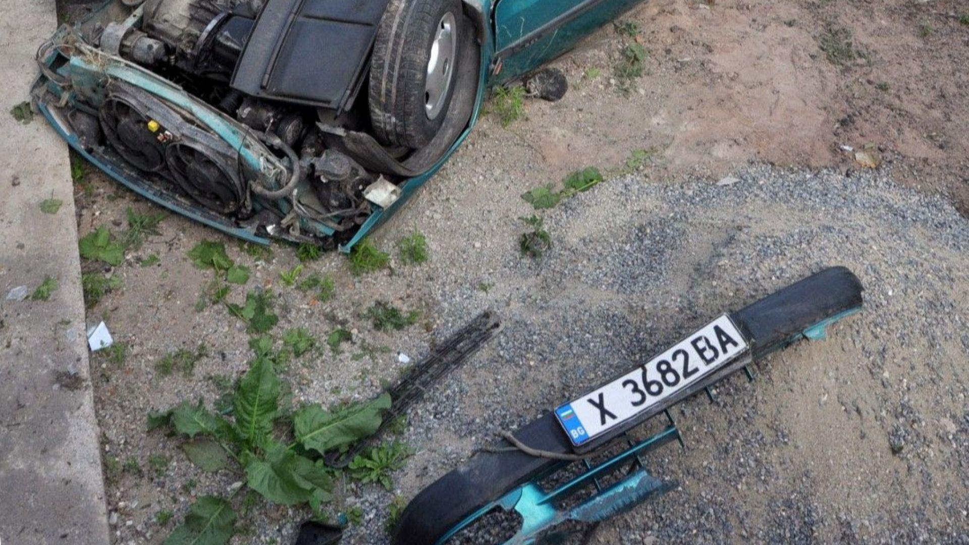 Според полицията, жената не е съобразила скоростта