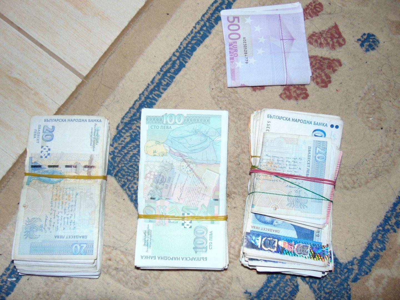 Антимафиотите са конфискували пачки с пари