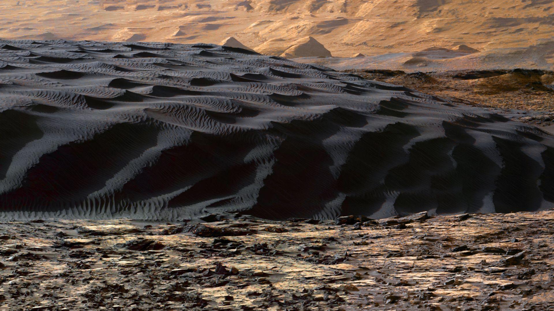 Къде може да има живот на Марс?