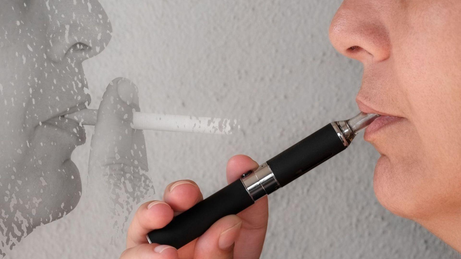 СЗО: Електронните цигари не са разрешение на проблема с тютюнопушенето