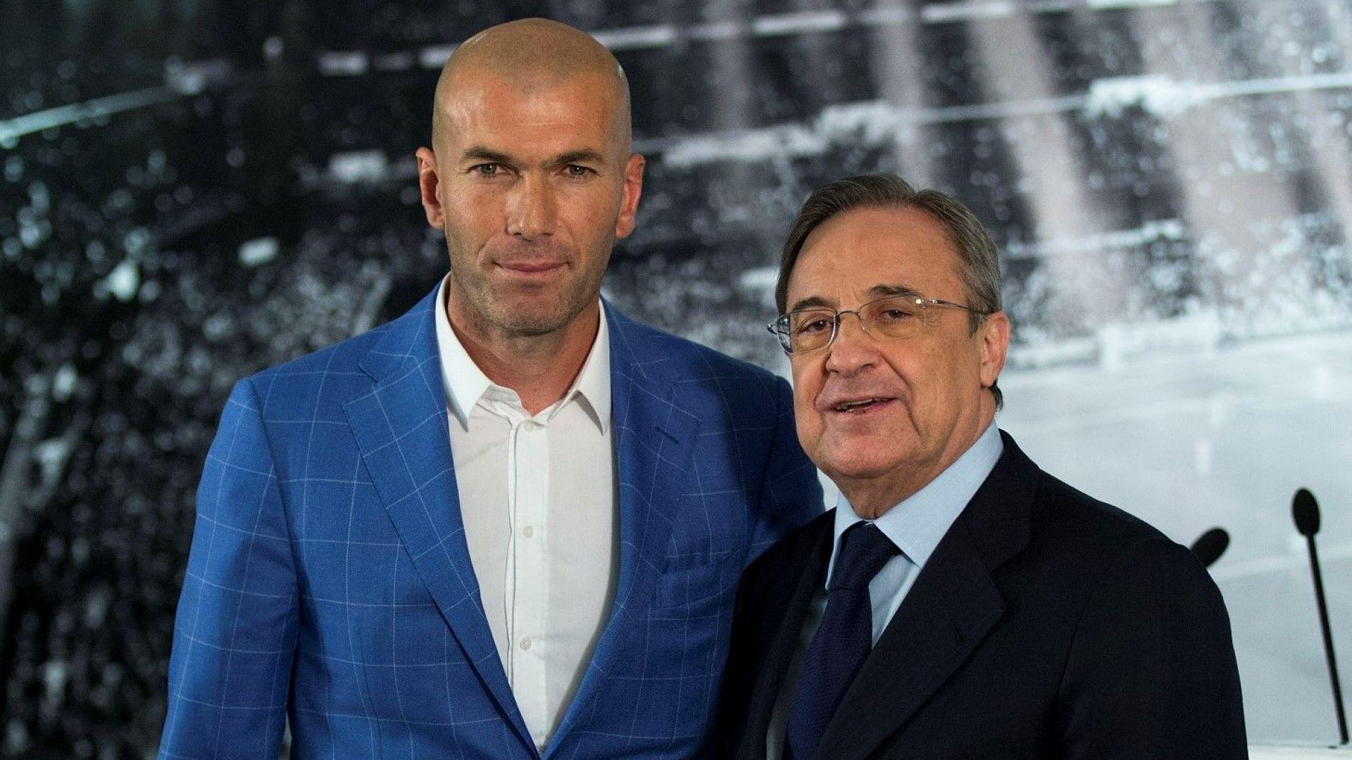Гръм от Мадрид: Зидан се завръща!