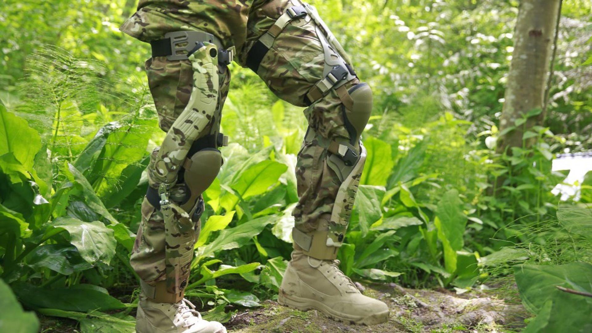 Американската армия показа боен екзоскелет