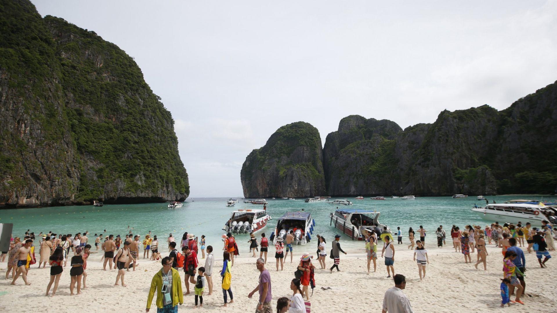 Най-известният залив в Тайланд вече е затворен (снимки)