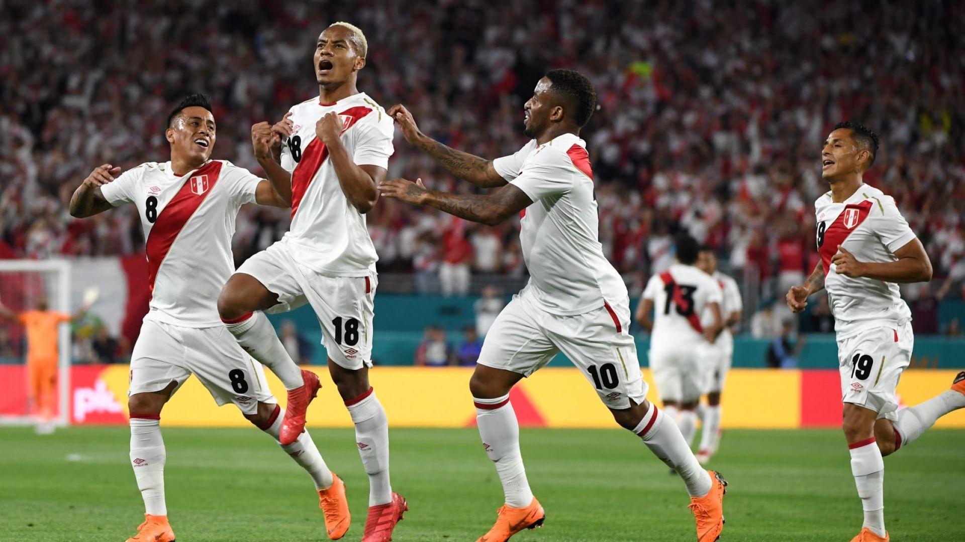 Перу с по-големи шансове за титла от Англия и Португалия