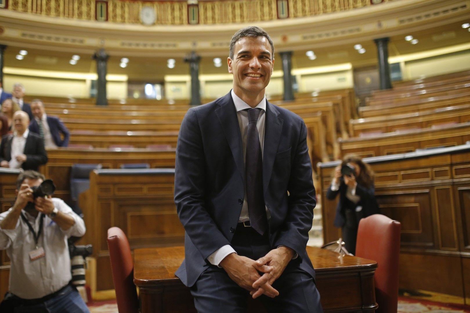 Новият испански премиер Педро Санчес