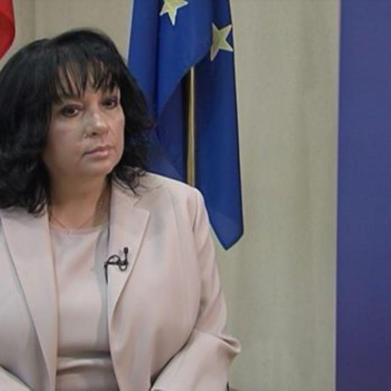 Теменужка Петкова, енергиен министър