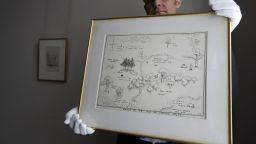 """Оригиналната карта на Голямата гора от """"Мечо Пух"""" беше продадена за рекордна сума"""