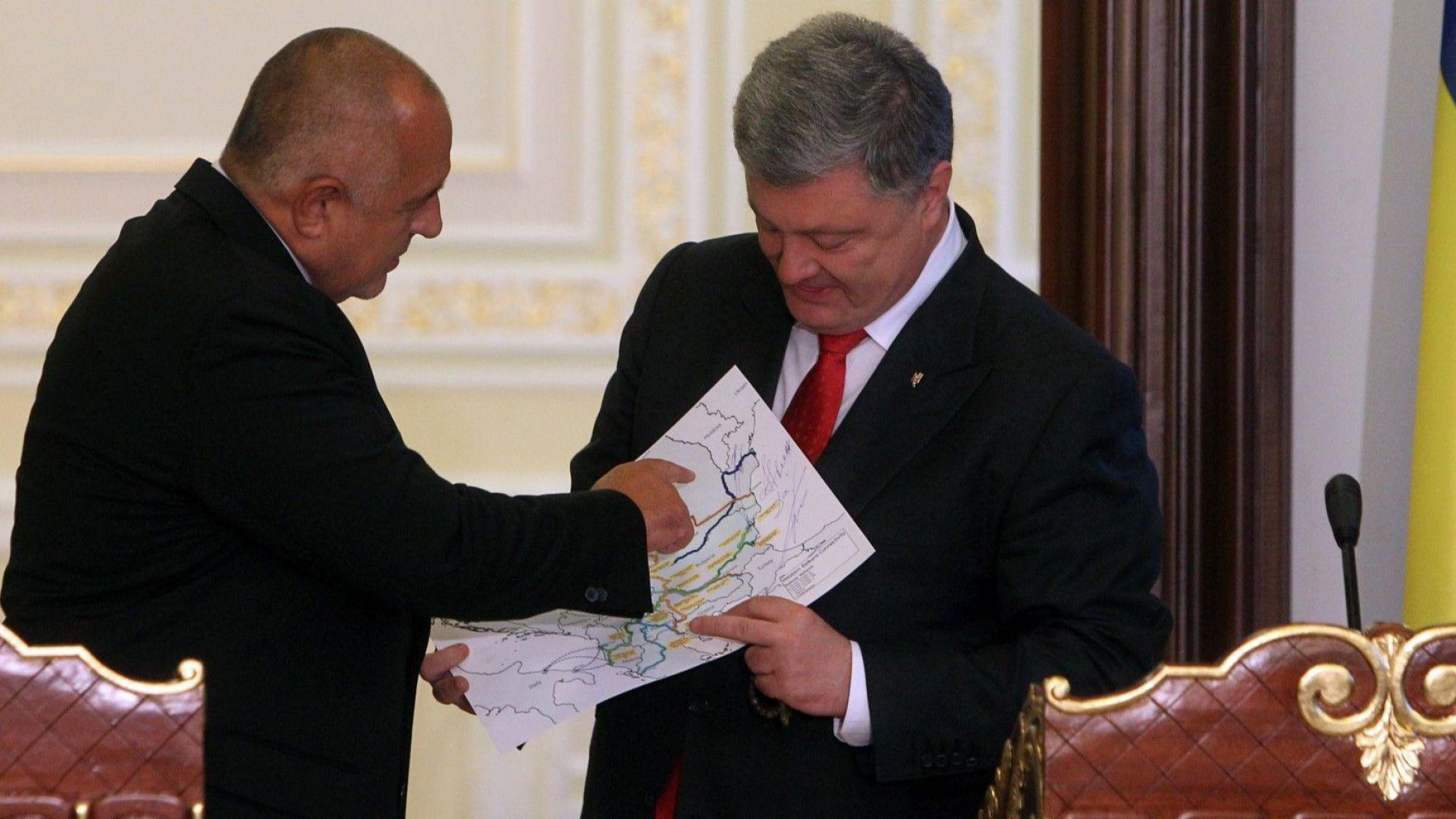 Порошенко: Ще строим път към България