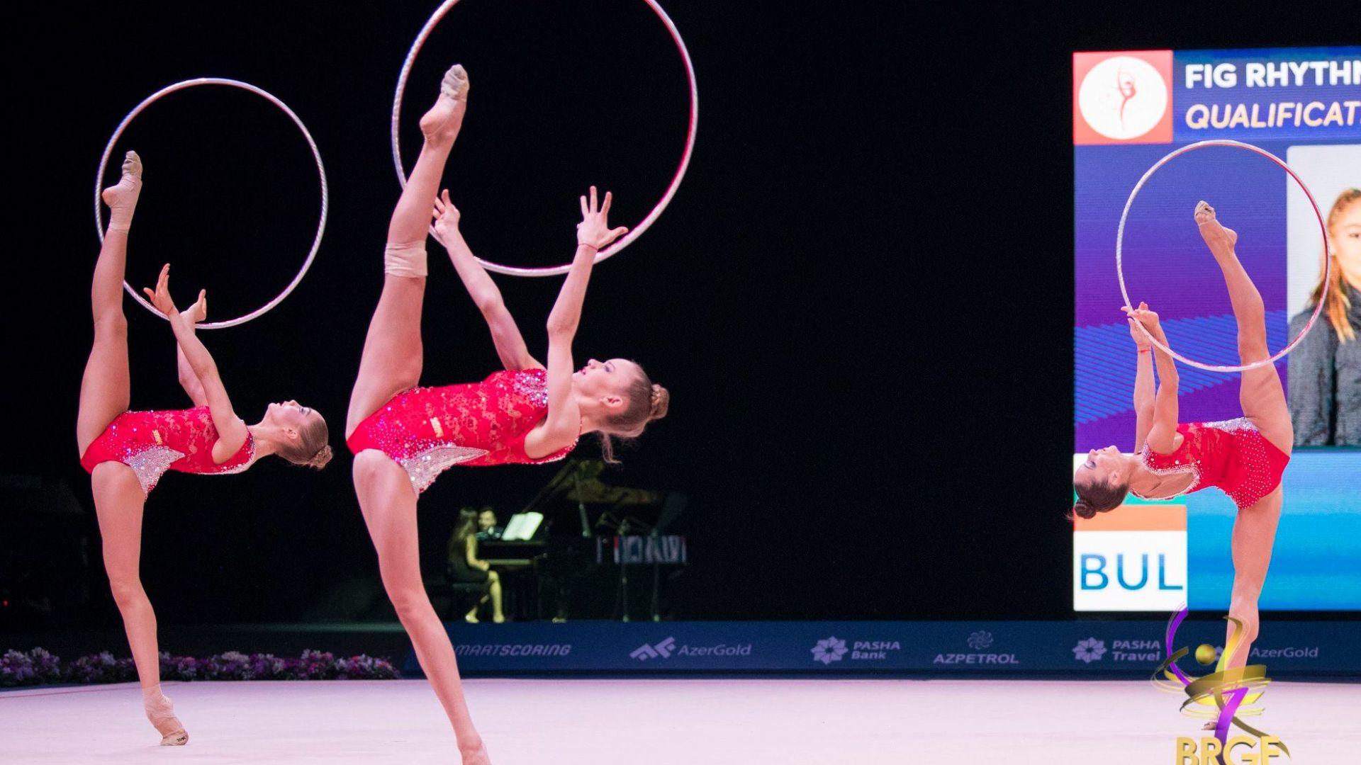 Гимнастички от всички континенти на Световното в София