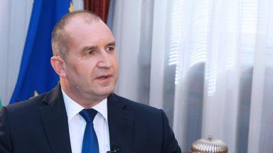 Радев: Не бива Европа да става заложник на украинските амбиции