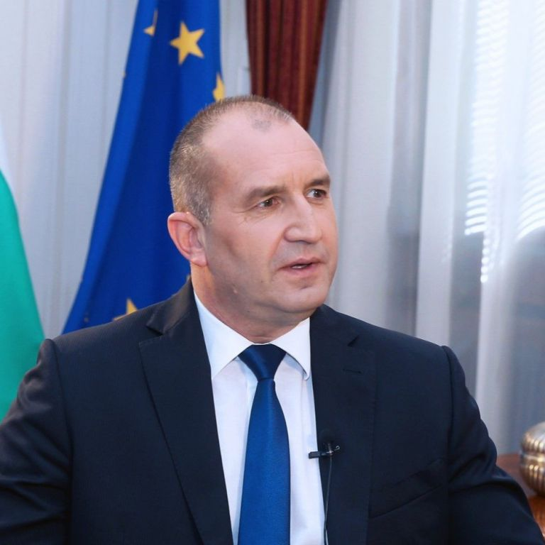 Румен Радев, президент
