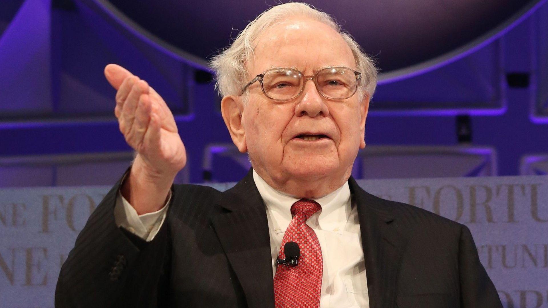 Неизвестен плати 3,3 млн. долара за обяд с милиардера Уорън Бъфет