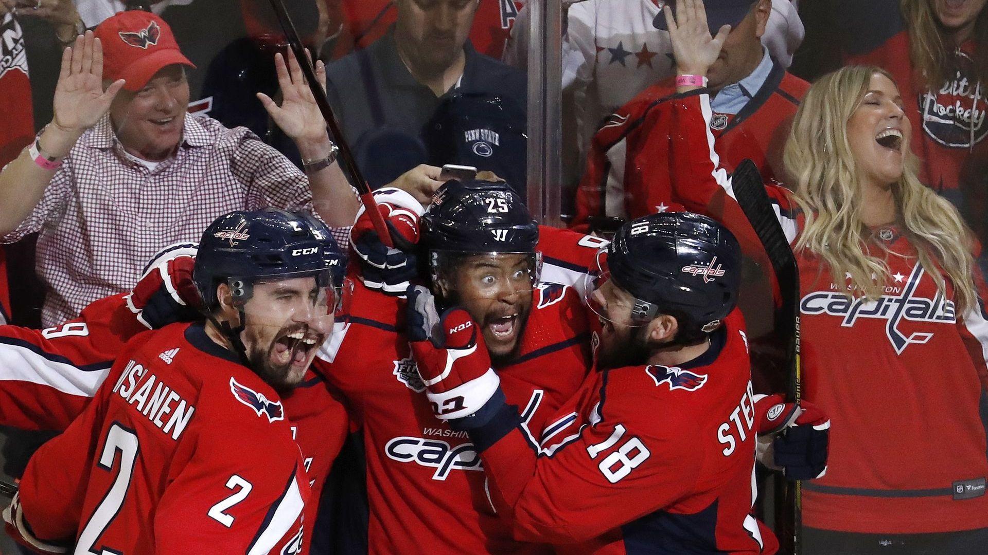 """Руска мощ и тъмнокож канадец поведоха """"Вашингтон"""" към Купа """"Стенли"""""""