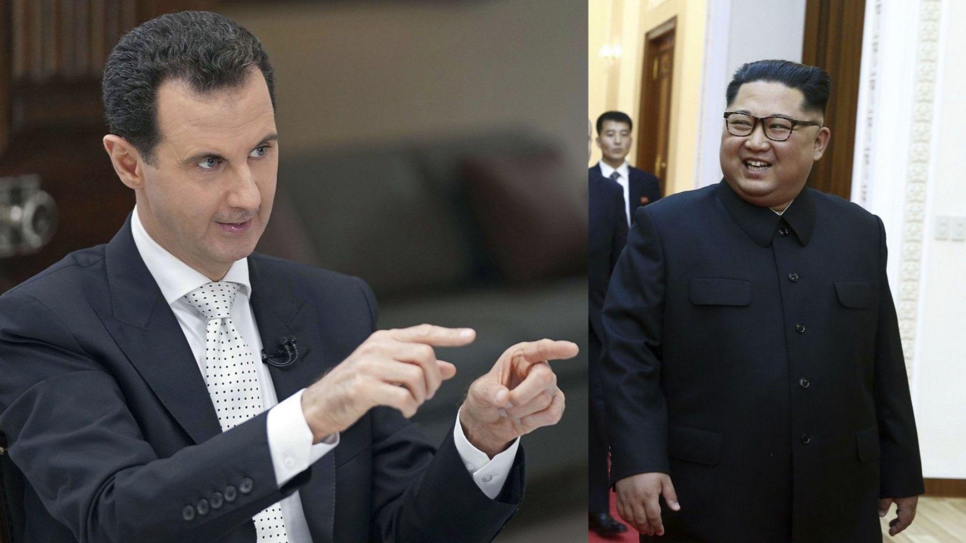 Башар Асад иска среща с Ким Чен-ун