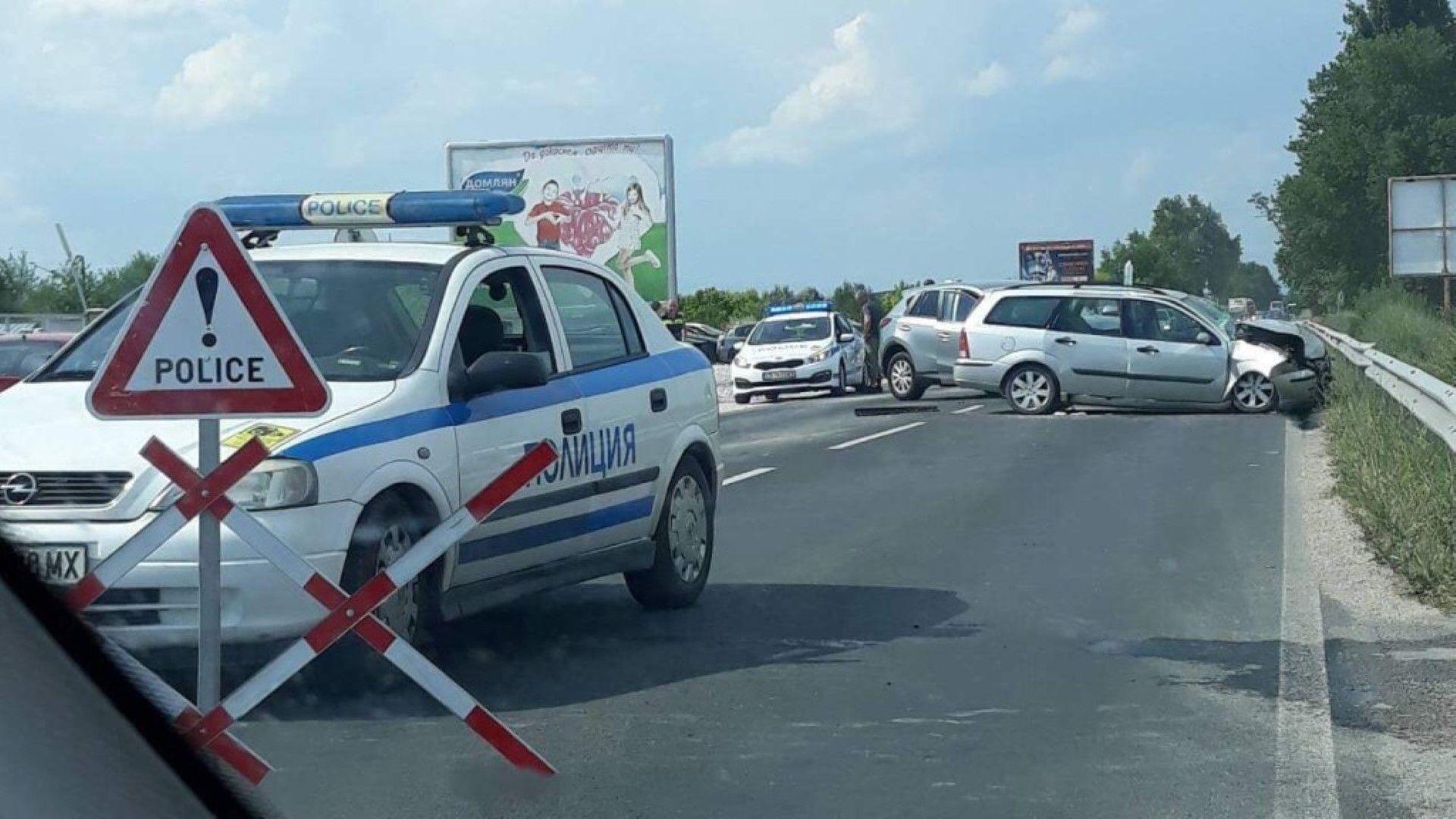 Две тежки катастрофи край Пловдив