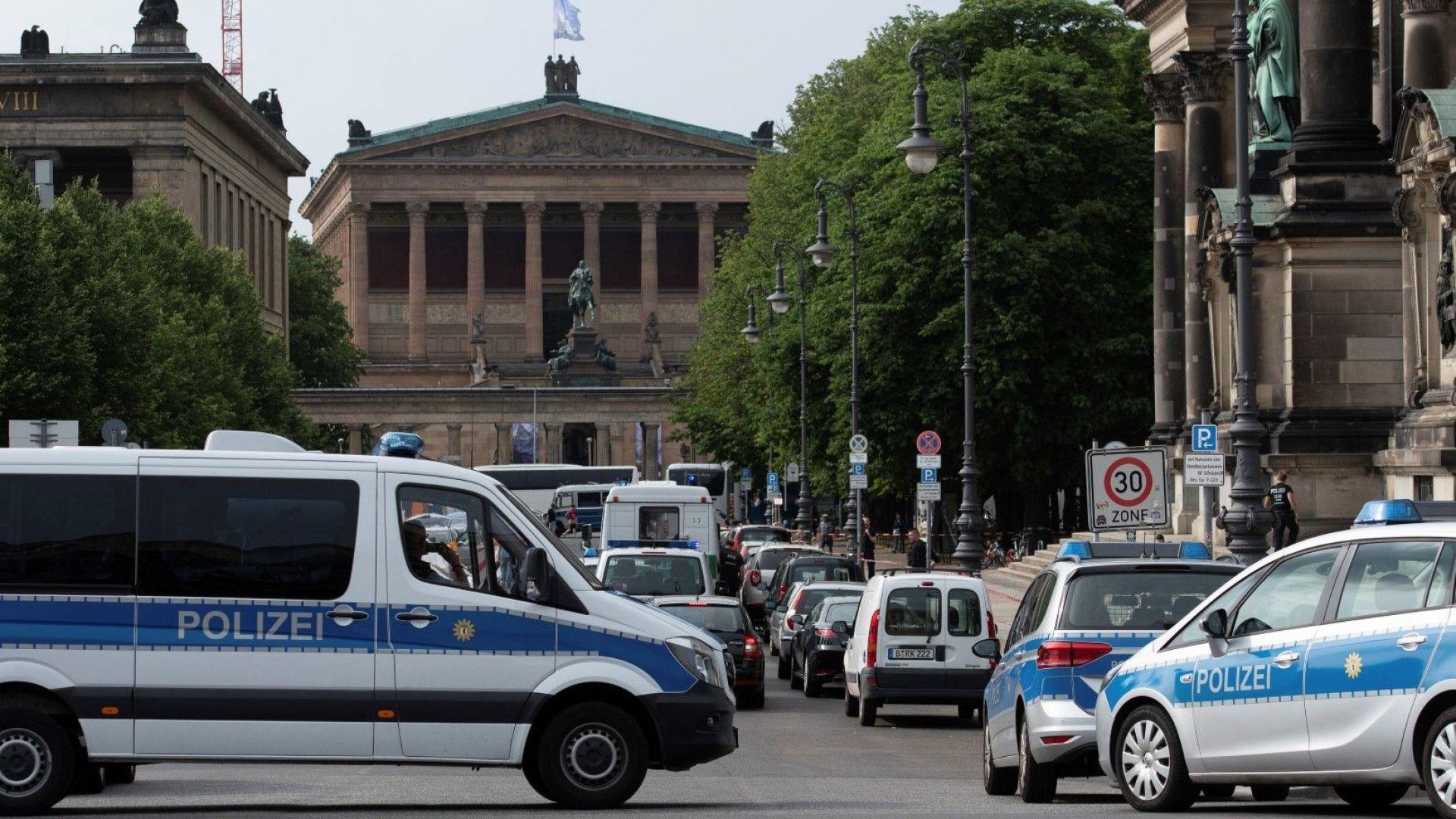 Полицай простреля мъж в Берлин, който се готвел за нападение