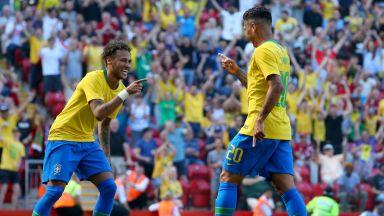 """Мечтано завръщане на Неймар при успех на Бразилия на """"Анфийлд"""""""