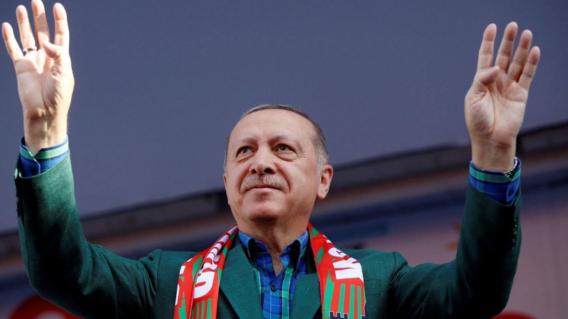 Прогноза: Ердоган няма да спечели президентските избори на първи тур