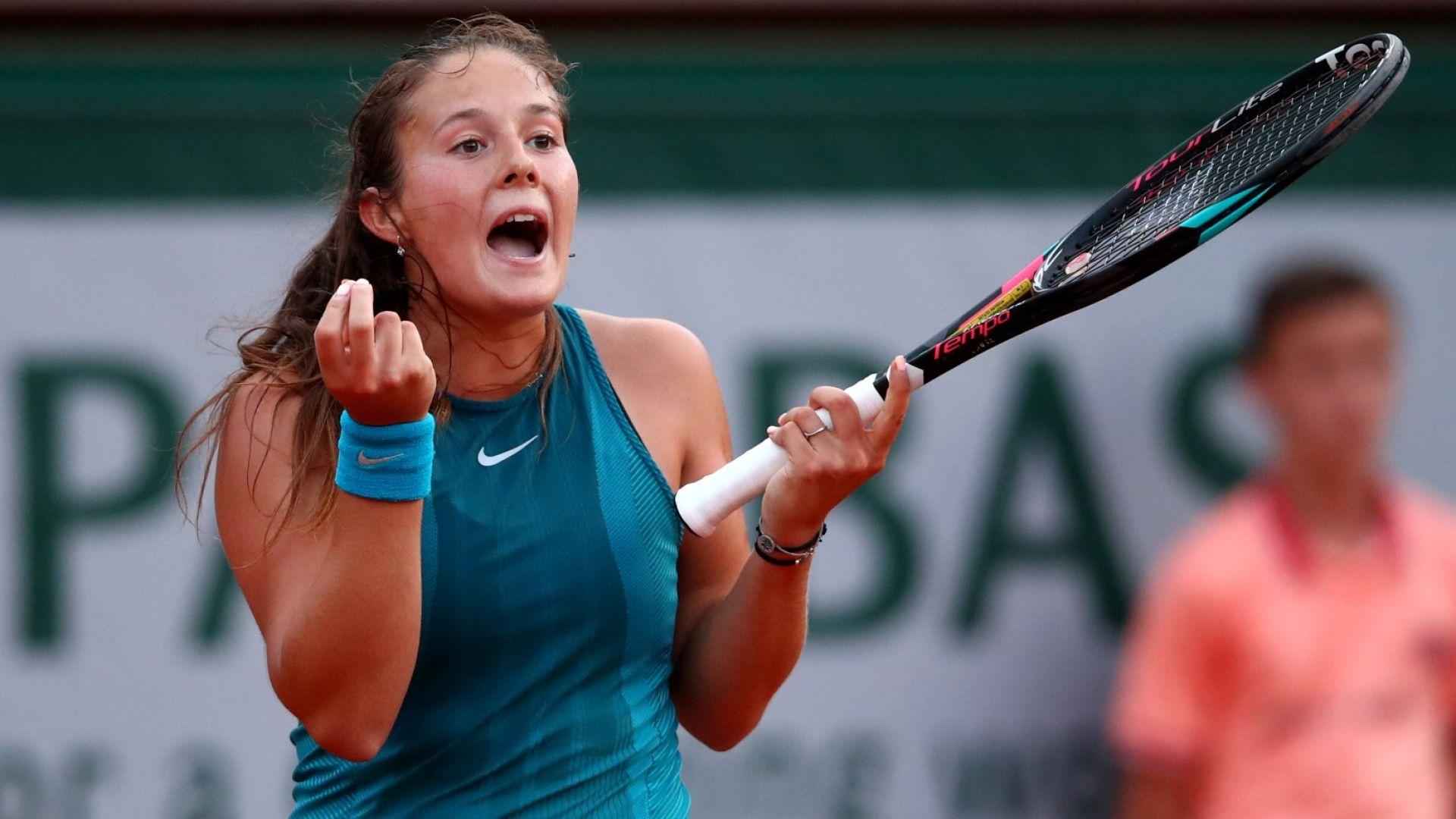 Надеждата на руския тенис изхвърли Вожняцки от Париж