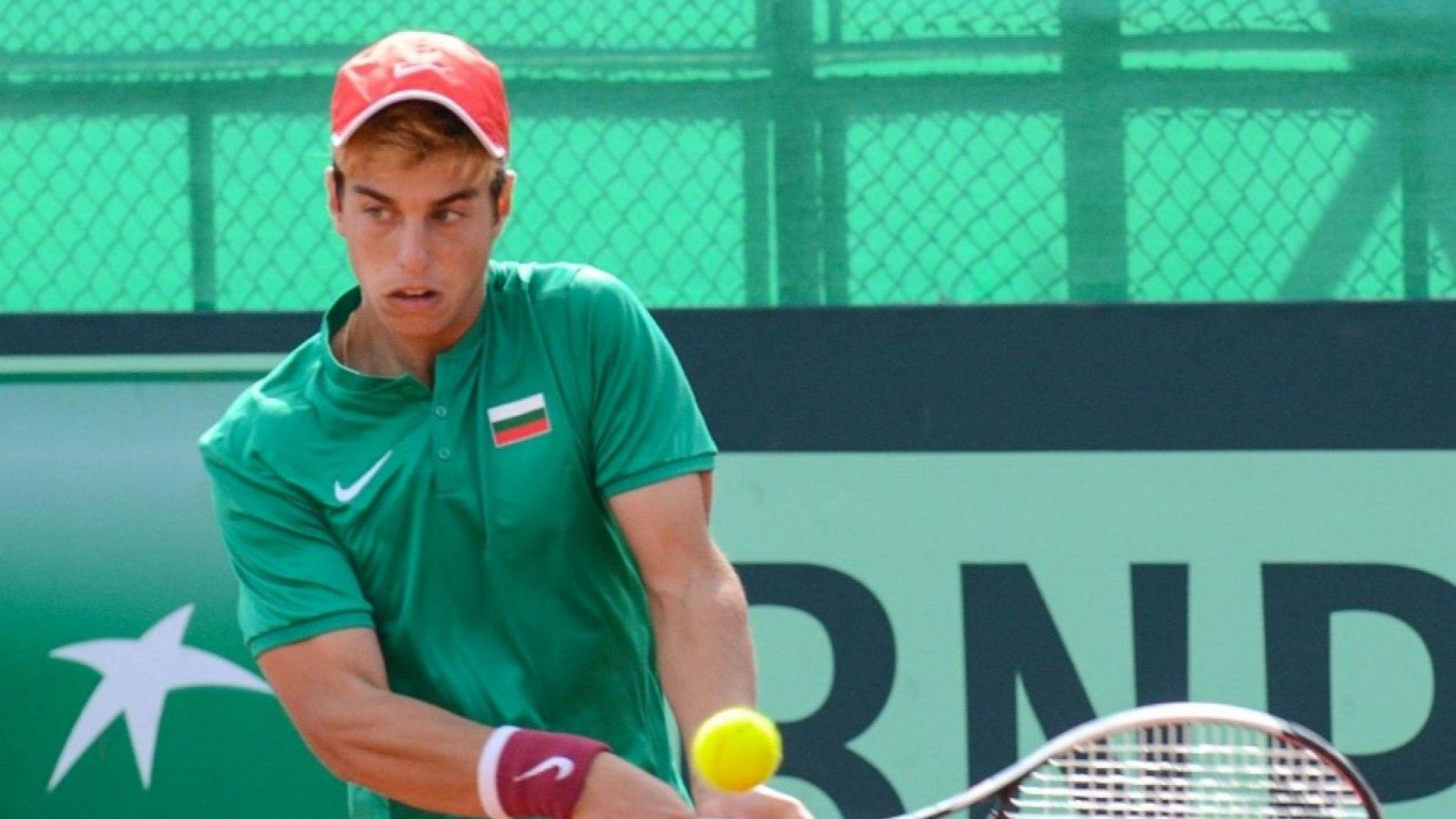 Адриан Андреев е №4 в света при юношите