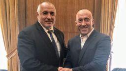 Борисов и Харадинай обсъдиха пътя от Адриатика до Черно море