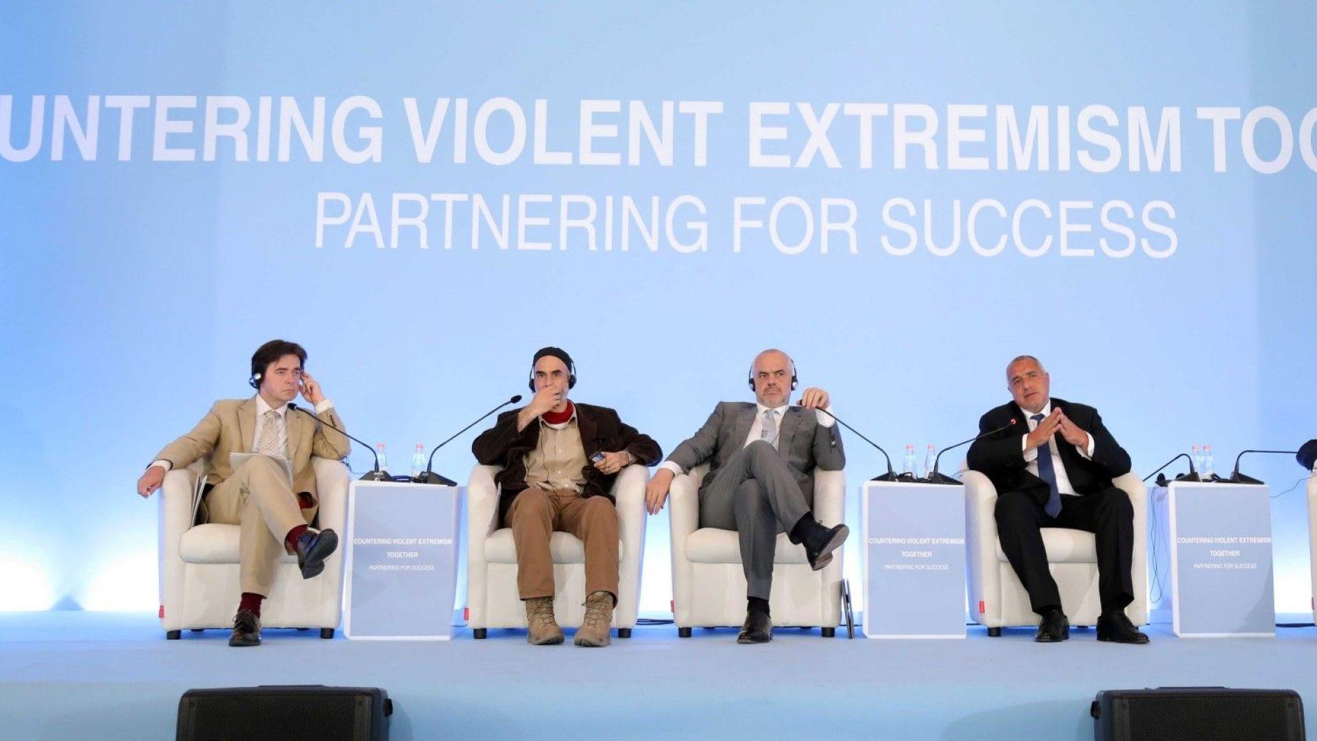 Борисов:  Чрез мир и толерантност можем да се противопоставим на заплахите