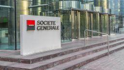 Сосиете женерал отчете спад на печалбата след сътресения в операциите и с инвестиционното банкиране