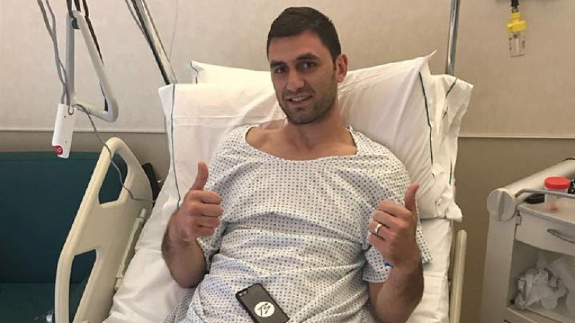 Звездата на България се оперира успешно