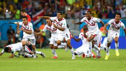 Отборите на Мондиал 2018: Коста Рика бе на миг от полуфинал преди 4 години