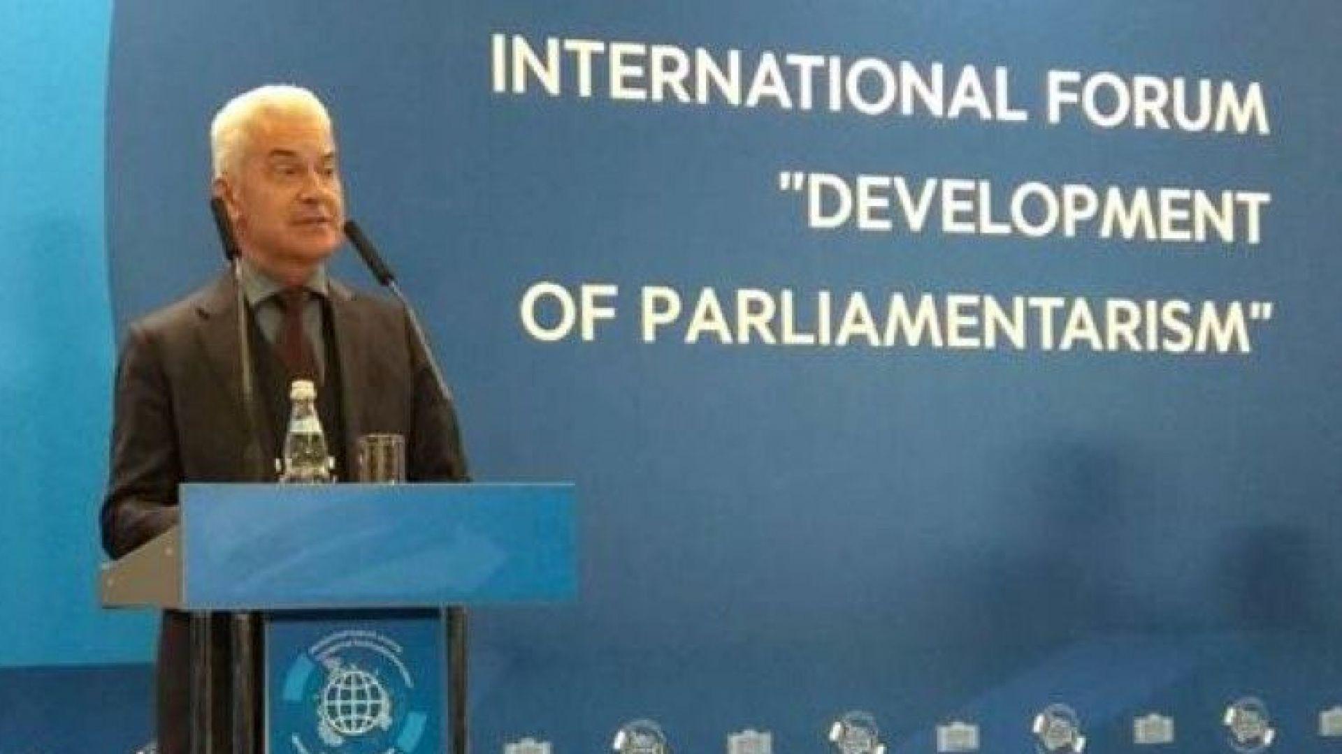 Сидеров призова от Москва: Да разбием хегемонията на долара