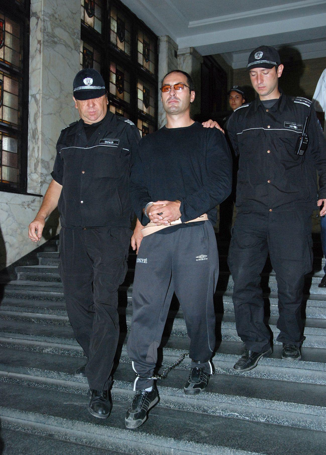 Владимир Пелов в съда преди години