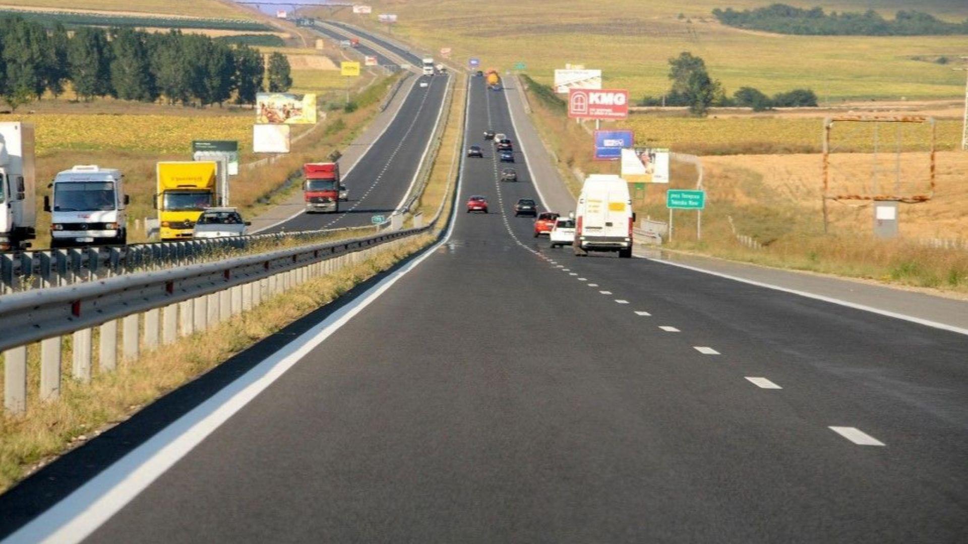 """Спират всички ремонти по магистрала """"Тракия"""" през лятото"""