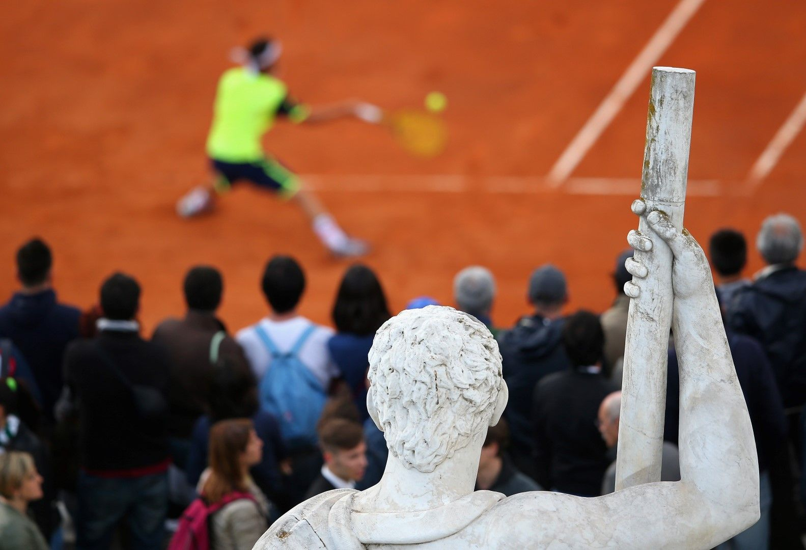 """В Рим на """"домашния турнир"""" през тази година."""