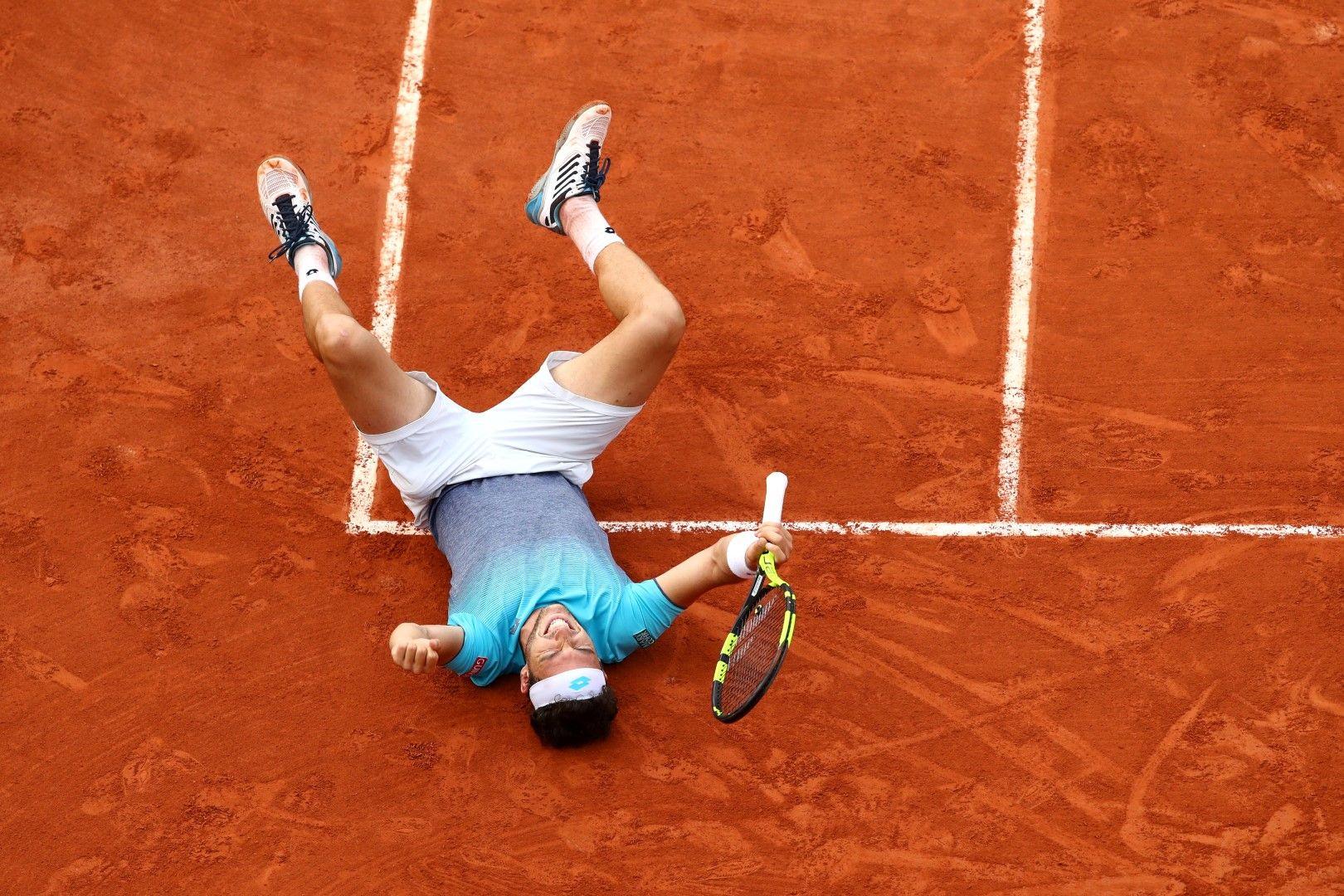 След победата над Джокович във вторник.