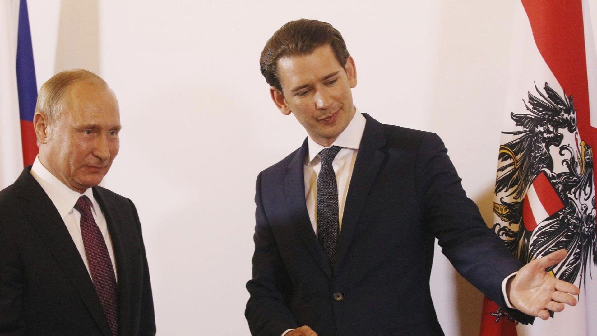 """Виена може да стане """"ефективен посредник"""" между Москва и ЕС"""
