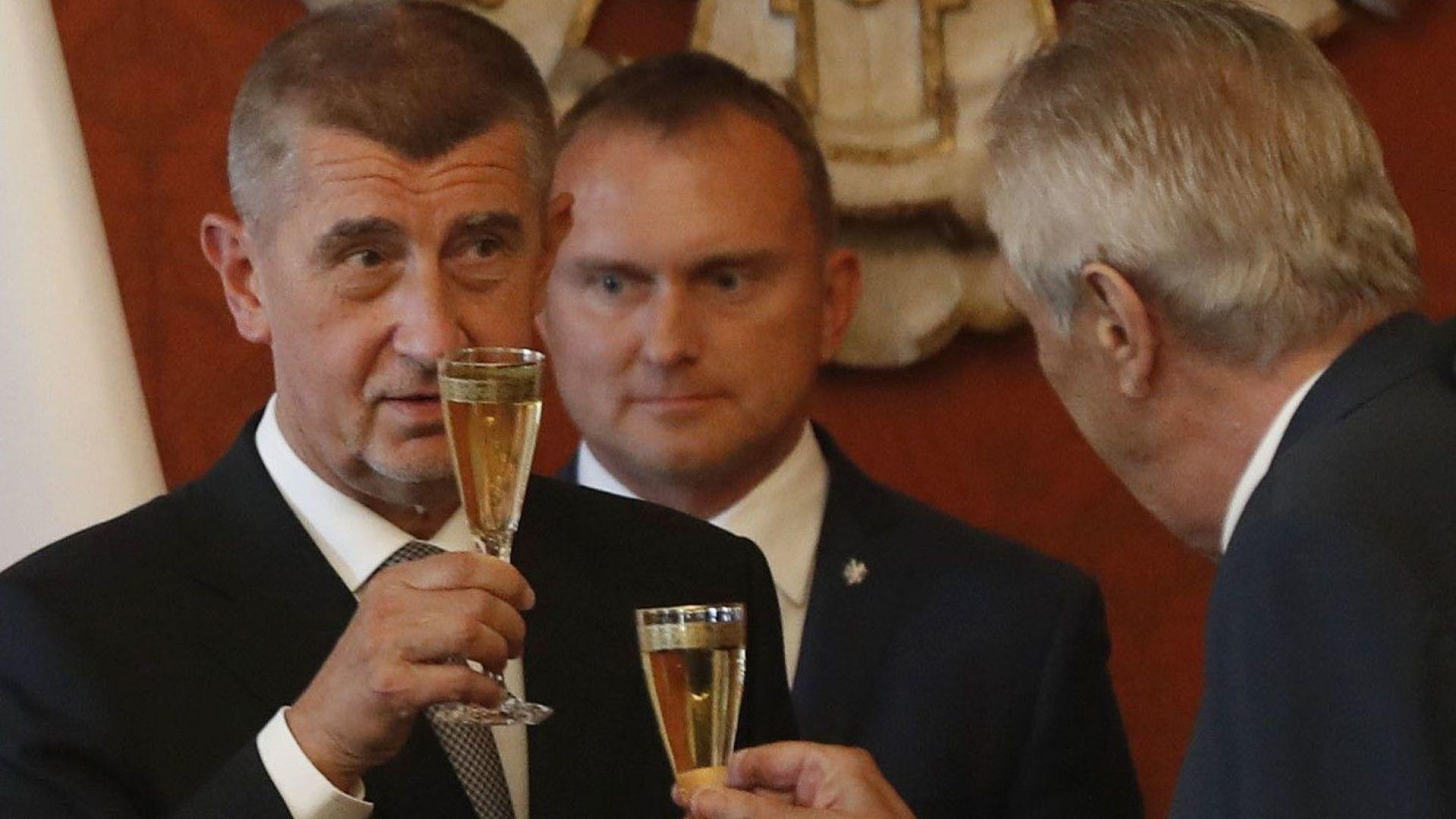 Андрей Бабиш отново стана премиер на Чехия