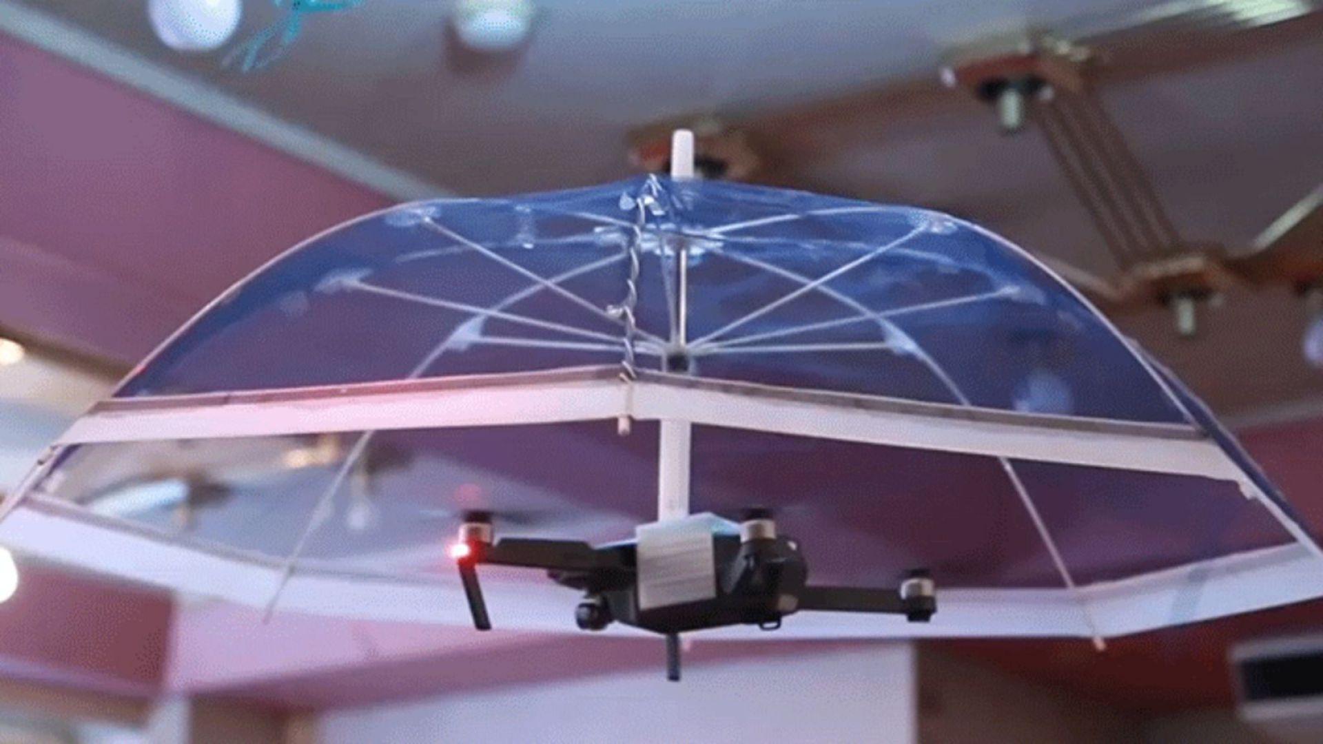 В Япония разработиха летящ чадър