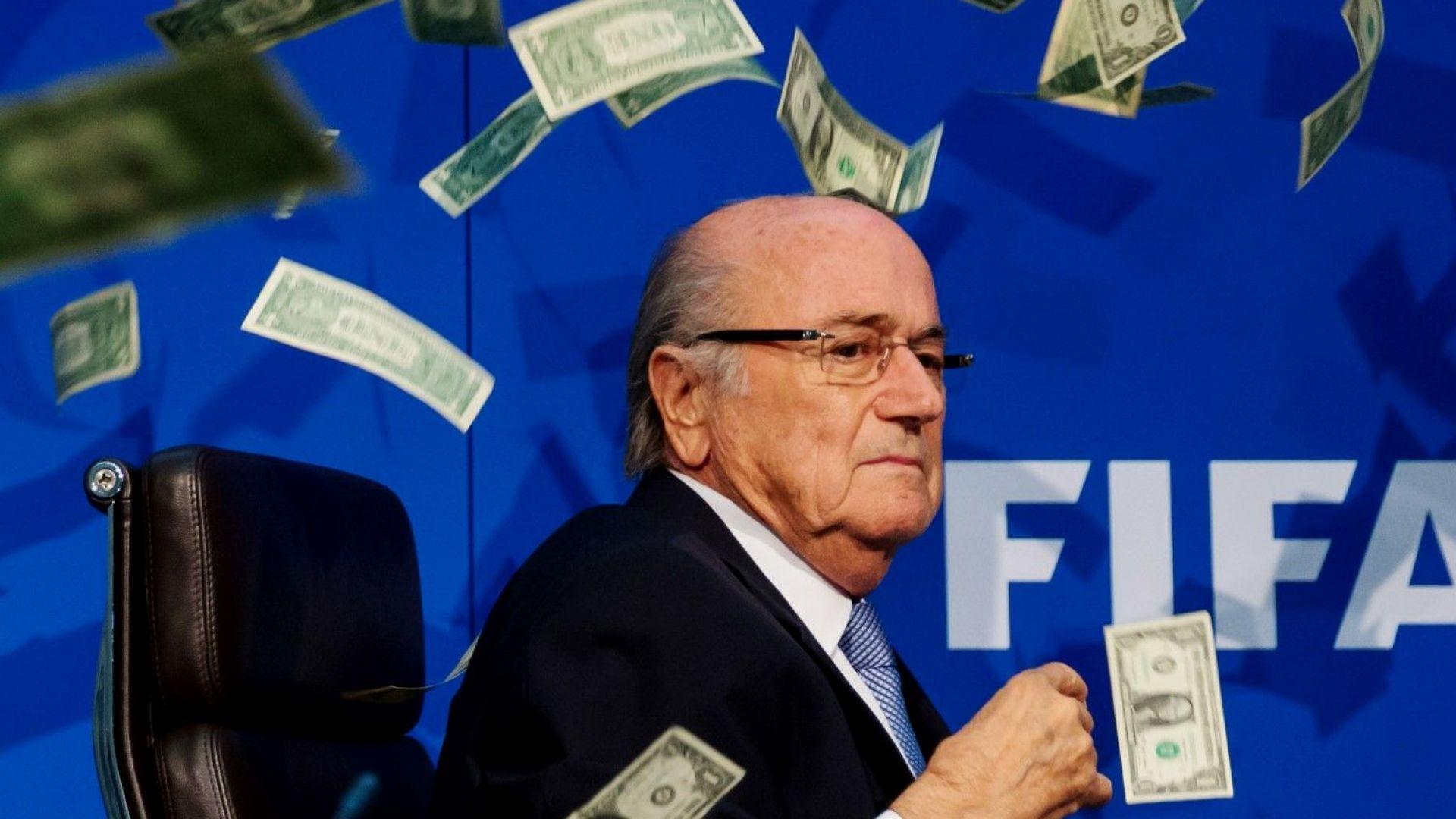 Блатер даде ФИФА на съд и разкри за тормоз към семейството му след скандала