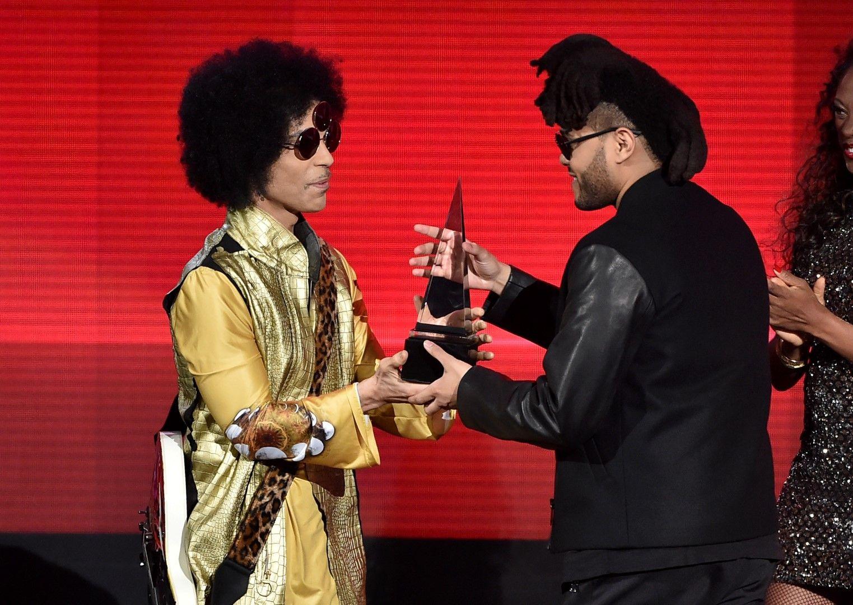 Принс на Американските музикални награди през 2015 г.