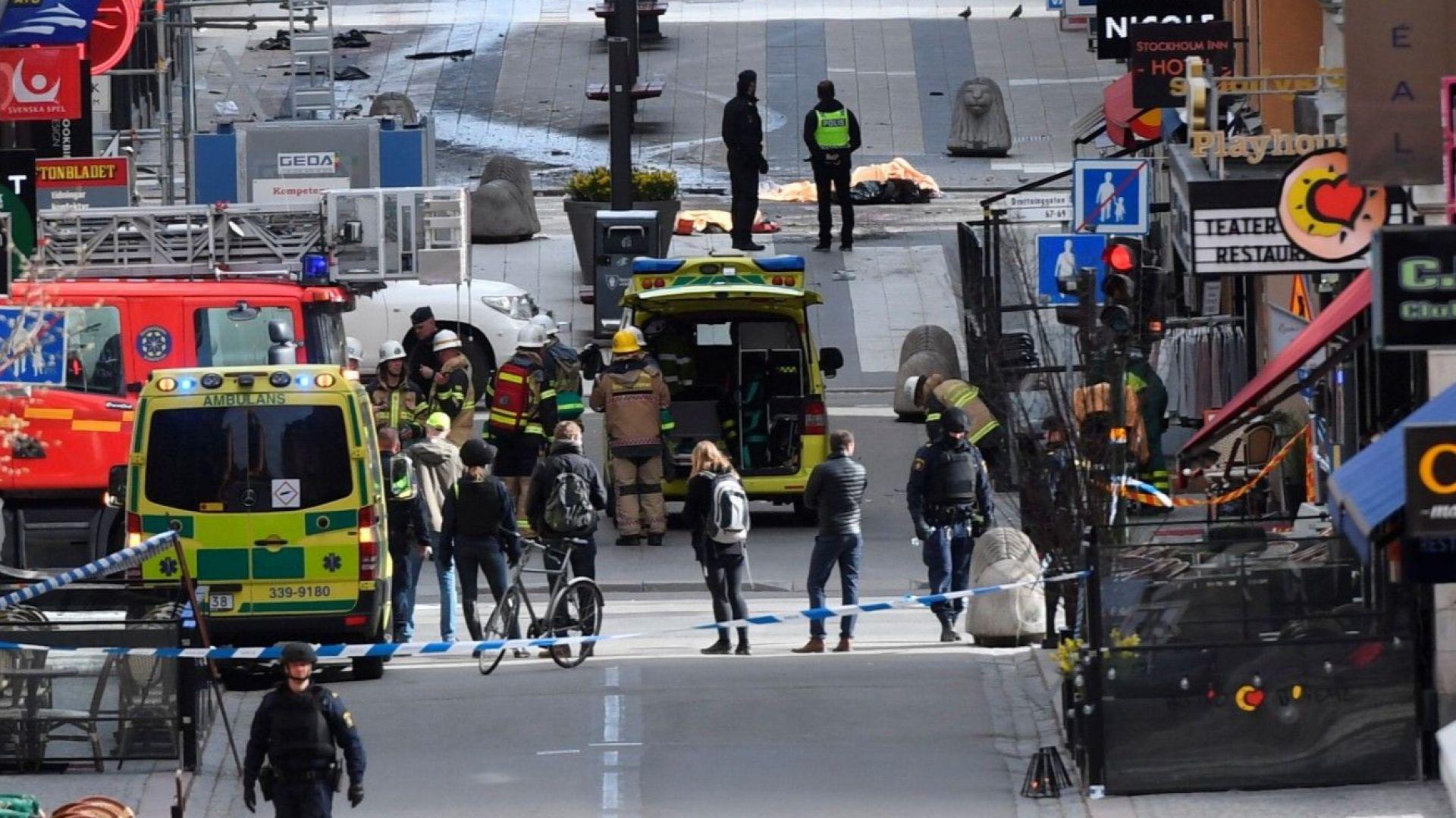 Доживотен затвор за узбека терорист от Стокхолм