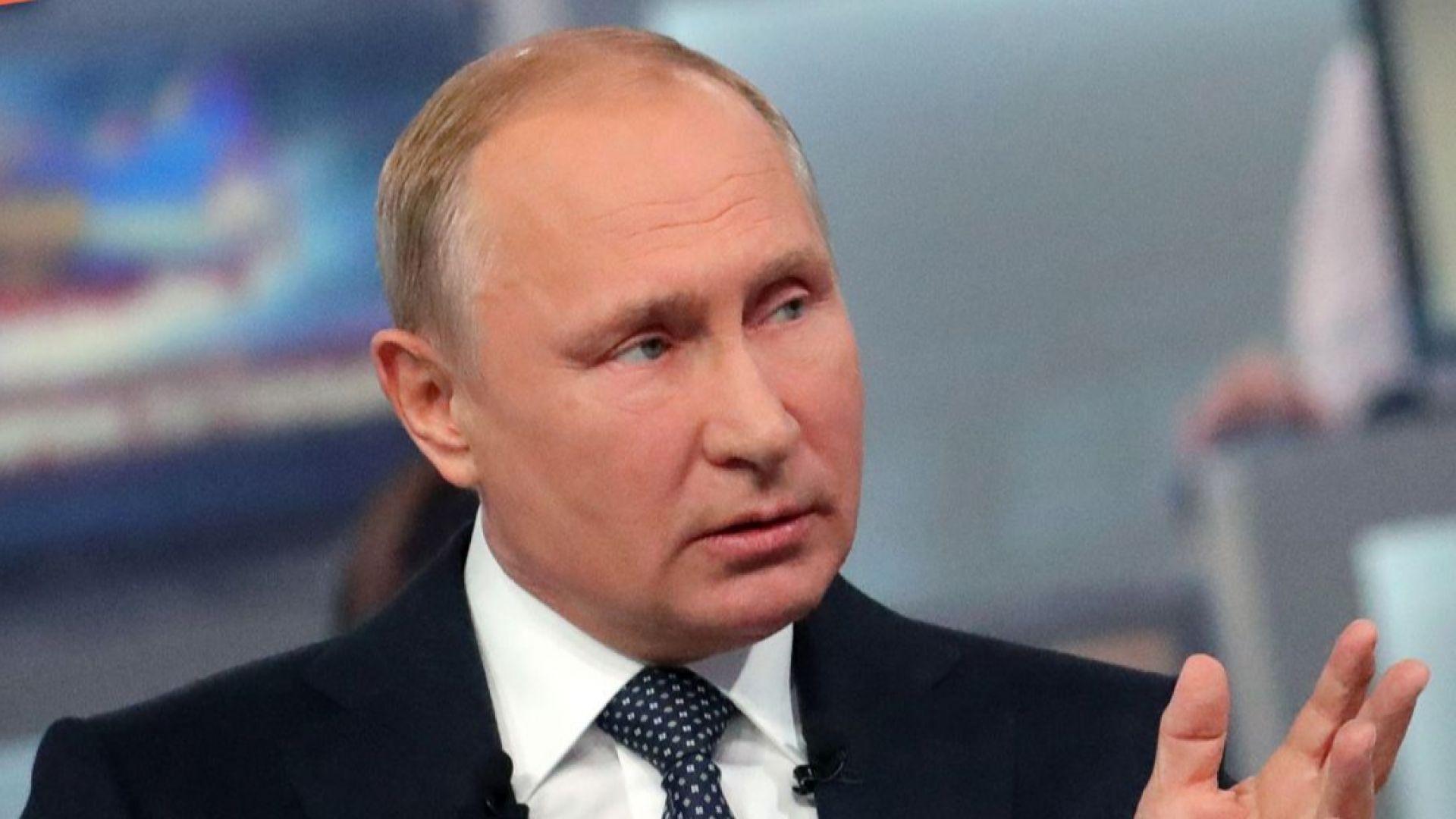 Путин: Русия още не планира изтегляне от Сирия