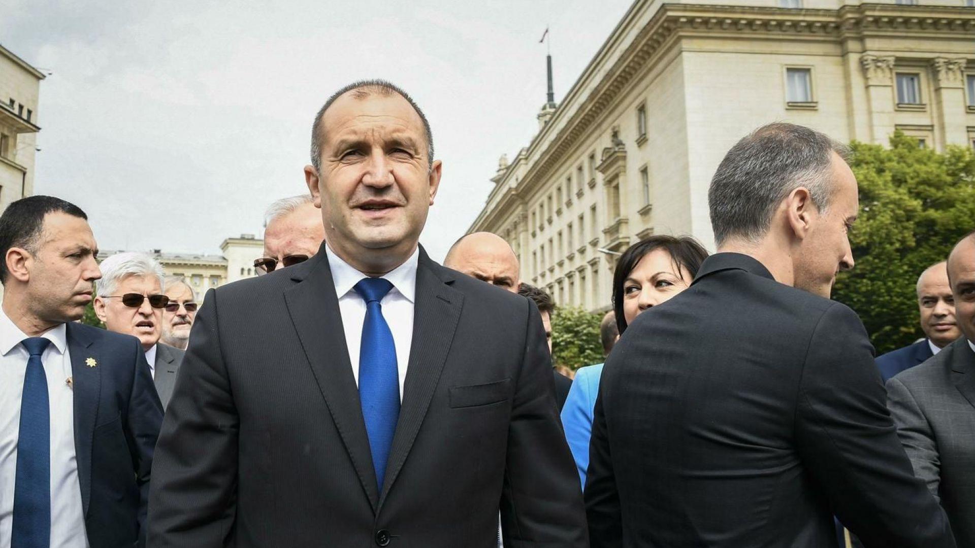 Румен Радев: За разлика от други, аз нямам началници нито в България, нито в чужбина